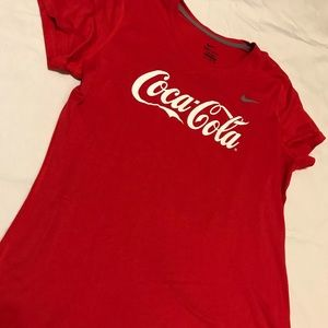 Nike Dri Fit Coke Shirt